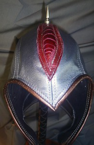 Spike helmet detail