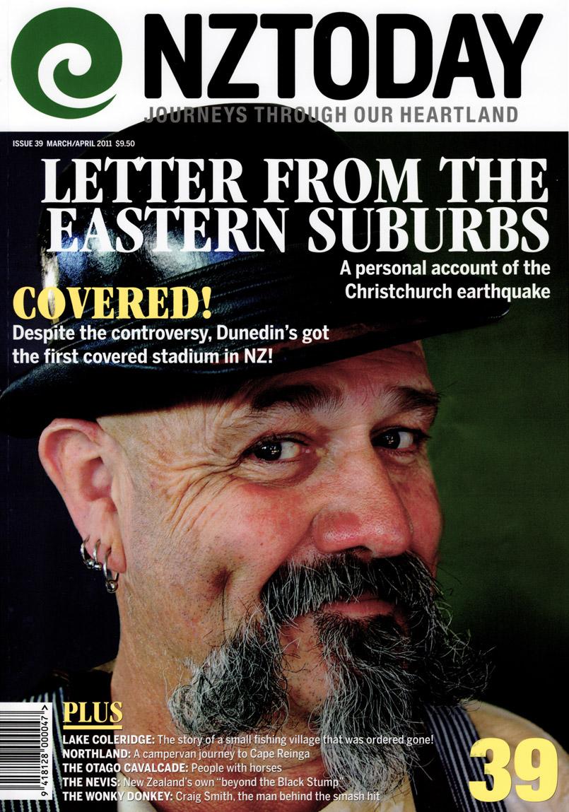 NZ Today magazine cover - Trevor Lamb