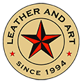 Leather And Art – 06 379 6144 – helmets, bags, bike gear and more since 1994 Logo