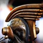 Leather And Art - Trevor Lamb, steampunk helmet