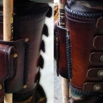 Leather And Art - Trevor Lamb - Drumstick holder