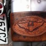 Leather And Art - Trevor Lamb - bike leather